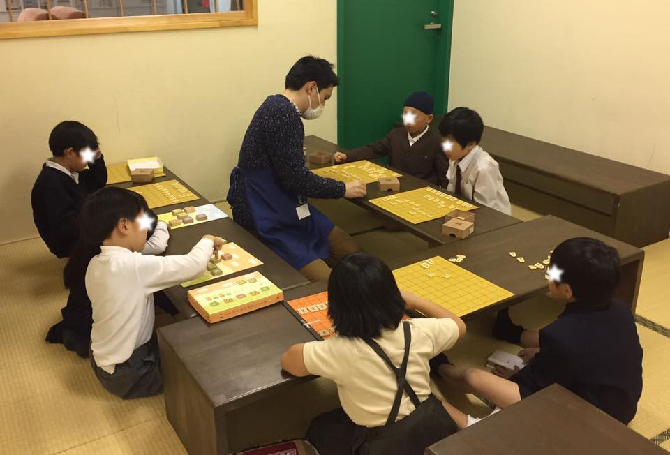 将棋教室、始まりました