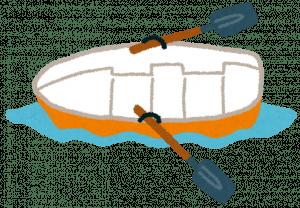 手こぎボート